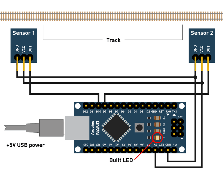 Using IR & Hall Type Sensors for Train Detection - Hackster io