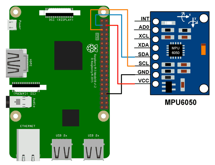 Mpu6050 interface with raspberry pi e4nkomu6su