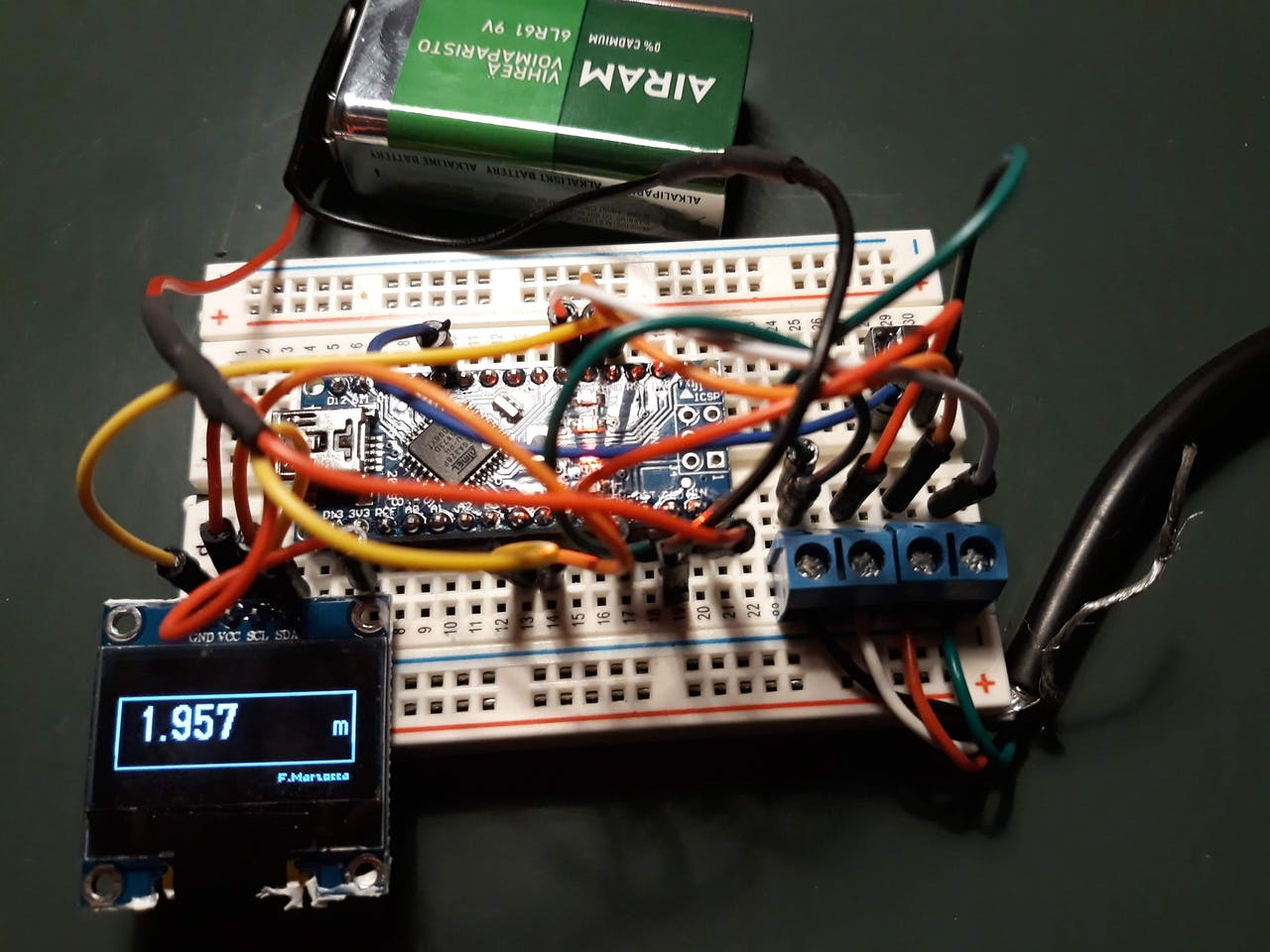 Measurino: A Measuring Wheel Proof of Concept - Hackster io