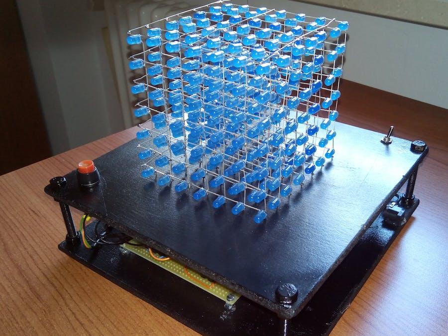 LED Cube 7x7x7