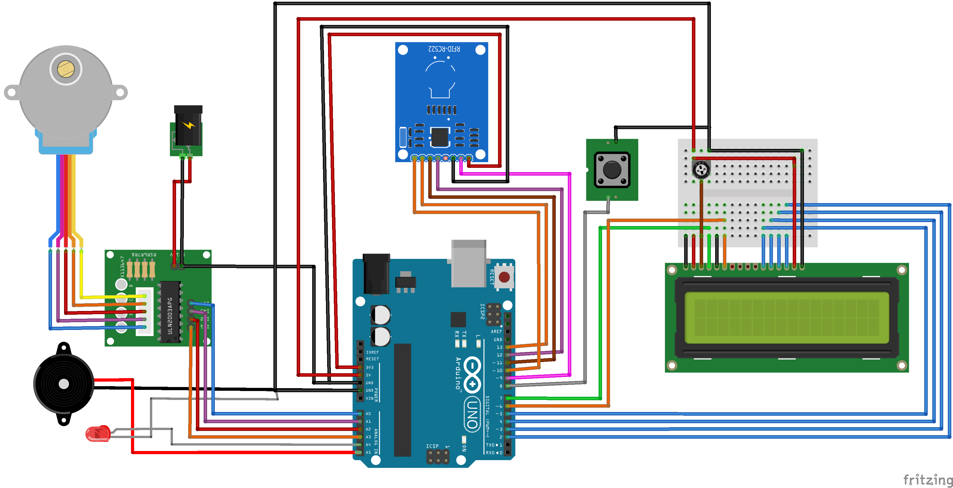 Arduino Rfid Simulating Simple Access Control System Based Using 8051 Electronic Circuits Circuitx Bb Ny3sqa9ogc