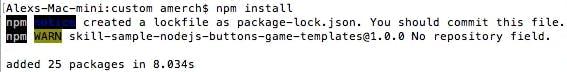Installing npm