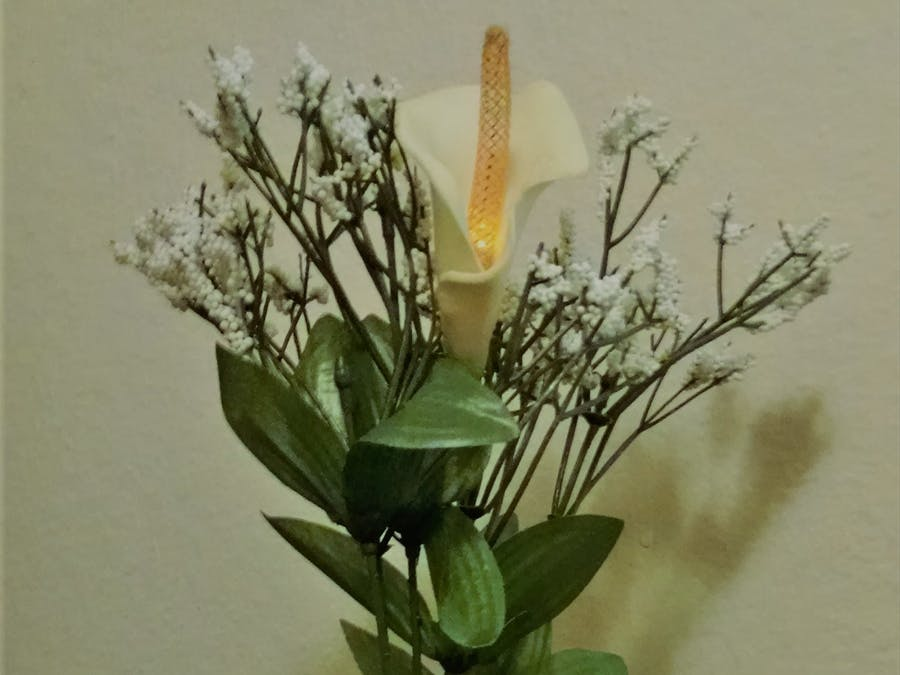 Fire Flower - Solar Rechargeable Decor