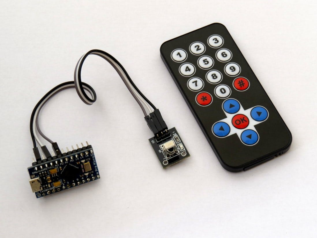 IR Remote Control for Presentation PC