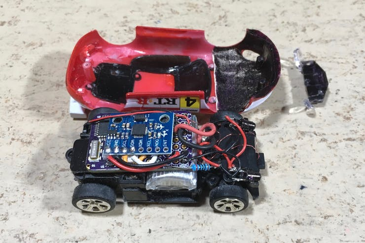 World's Smallest Arduino RC Car with Stability Control - Hackster io