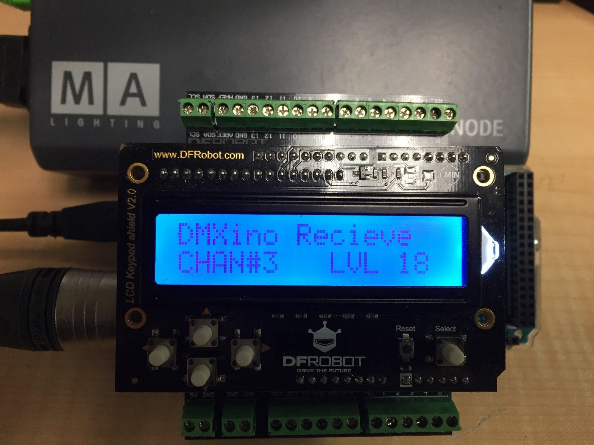 DMXino Handheld Tester