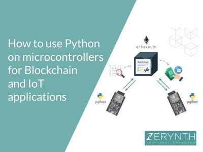Combining IoT and Blockchain Using Simple Python