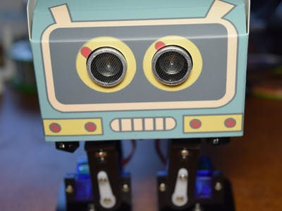 Elegoo Penguin Robot Kit Assembly and Demo