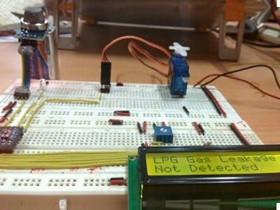 Arduino Based LPG Leakage Detector - Hackster io