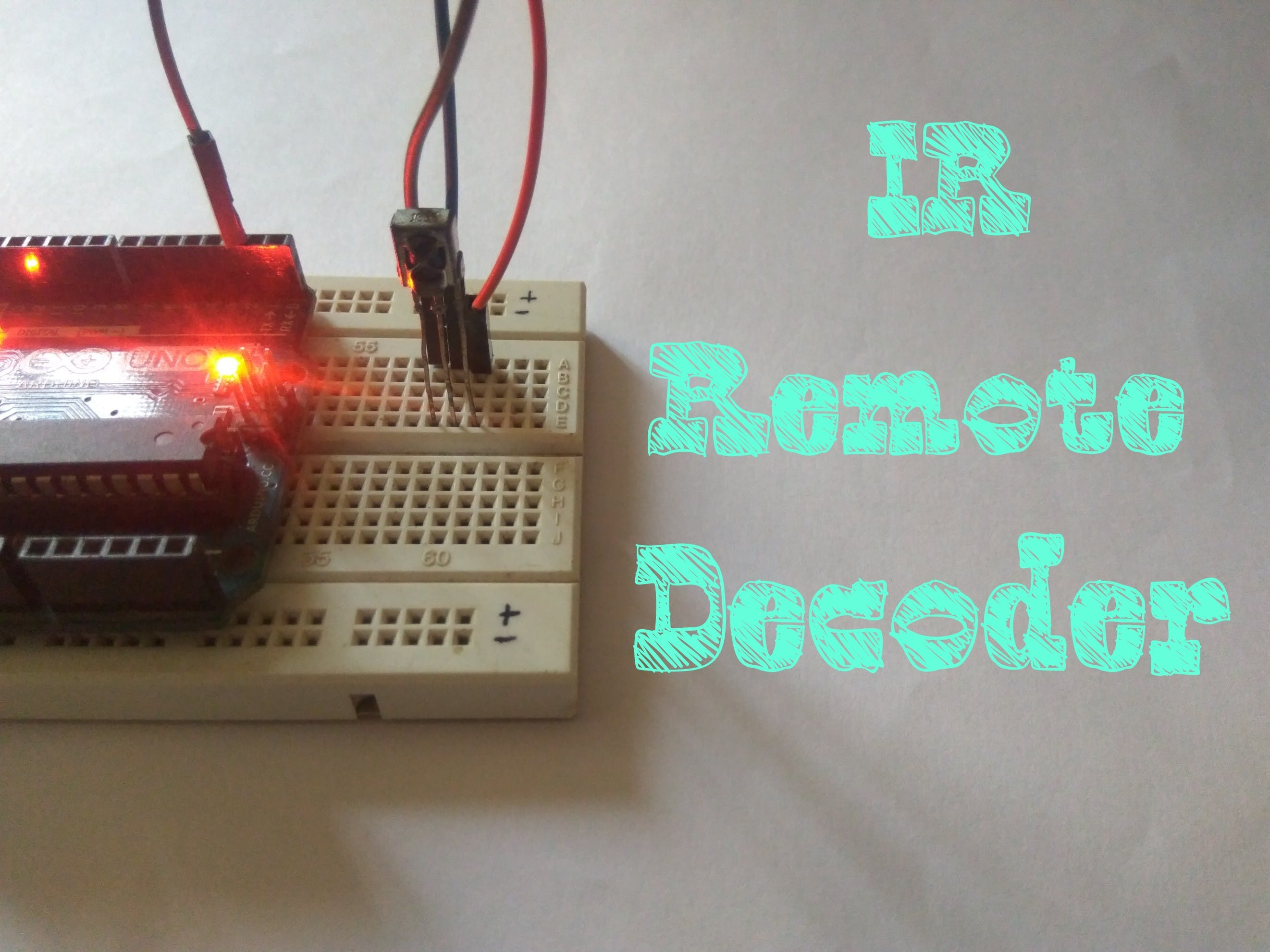 IR Remote Decoder Using Arduino