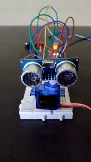 Arduino Radar with Distance and Width - Hackster io
