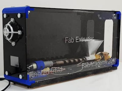 "Filament Recycling Extruder ""Fab Extruder"""