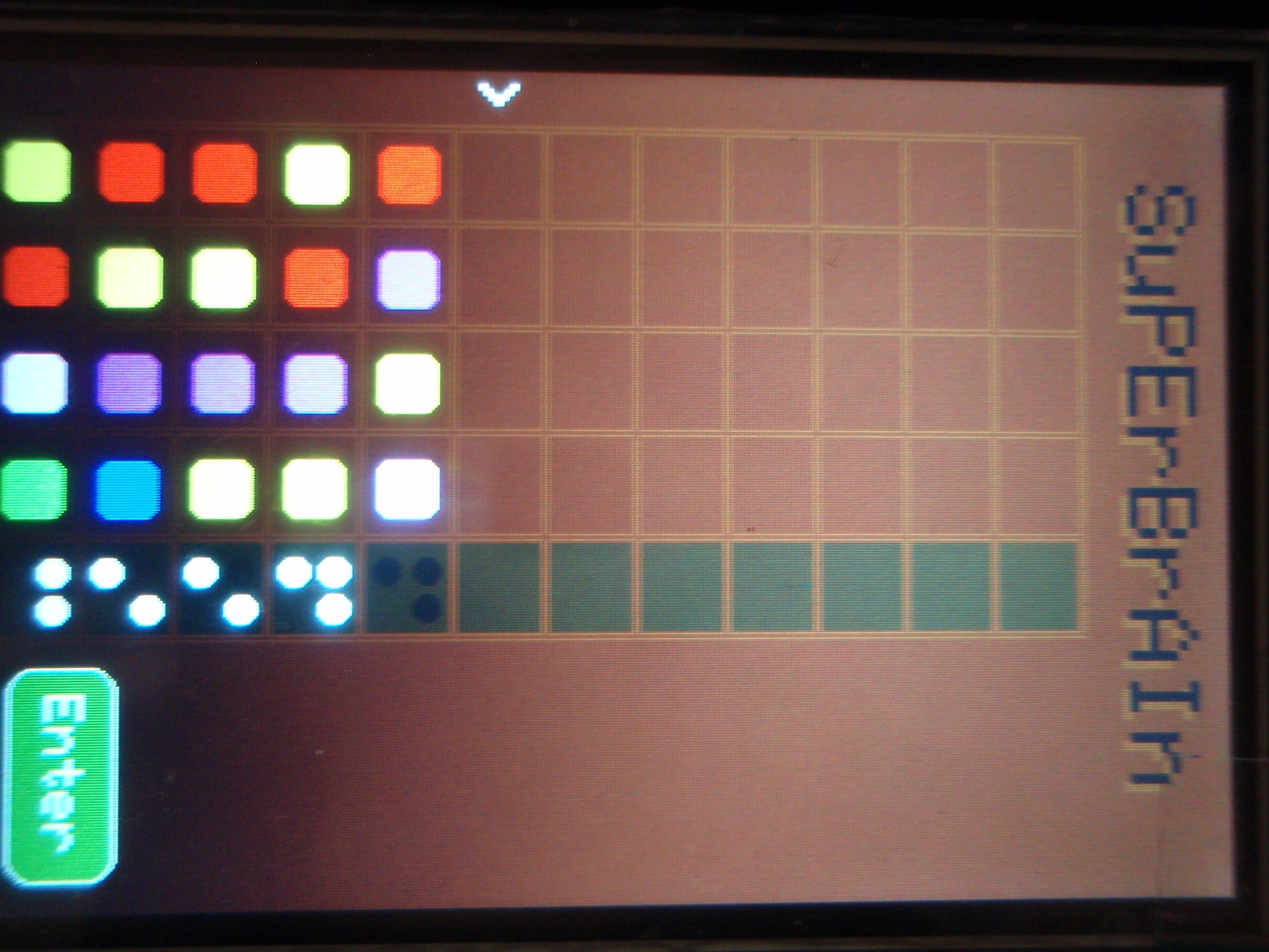 """Arduino Uno SuperBrain. A """"Mastermint"""" clone"""
