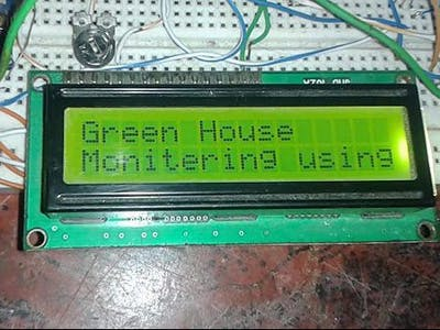 Greenhouse Monitoring with Arduino