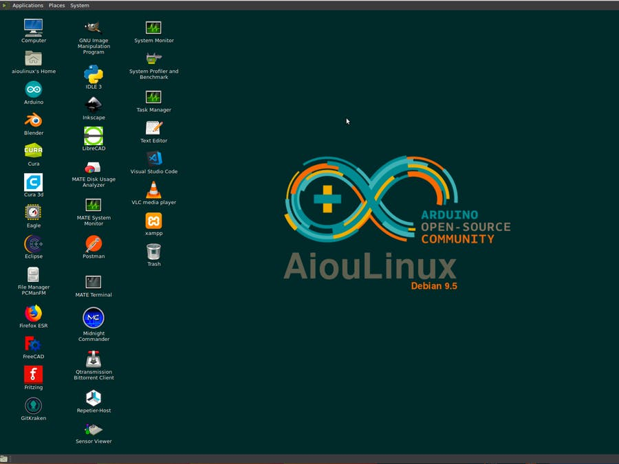 AiouLinux - Arduino Project Hub