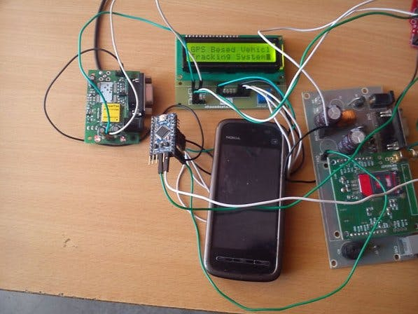 GPS and GSM-Based Vehicle Tracking System Using Arduino - Hackster io