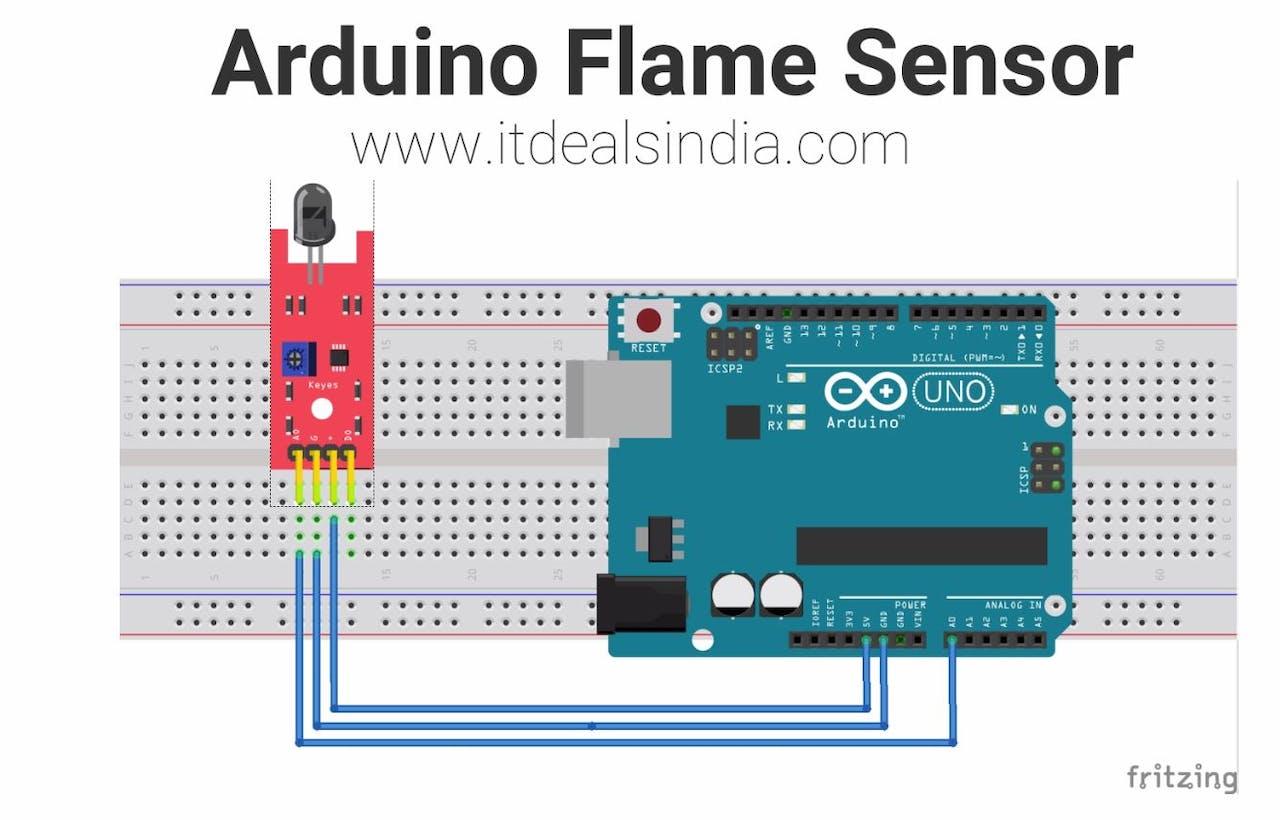 Arduino Flame Sensor - Arduino Project Hub