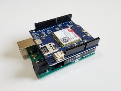 Open-Source LTE CAT-M/NB-IoT Shield for Arduino