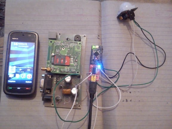 Arduino Based Security System Using GSM and PIR Sensor