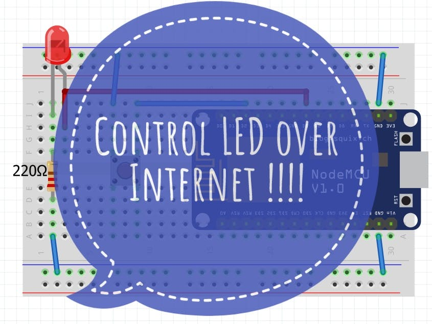 Control Devices Over Internet Through Browser (IoT)