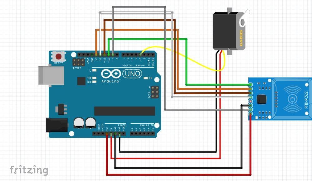 Arduino RFID Servo Box - Arduino Project Hub