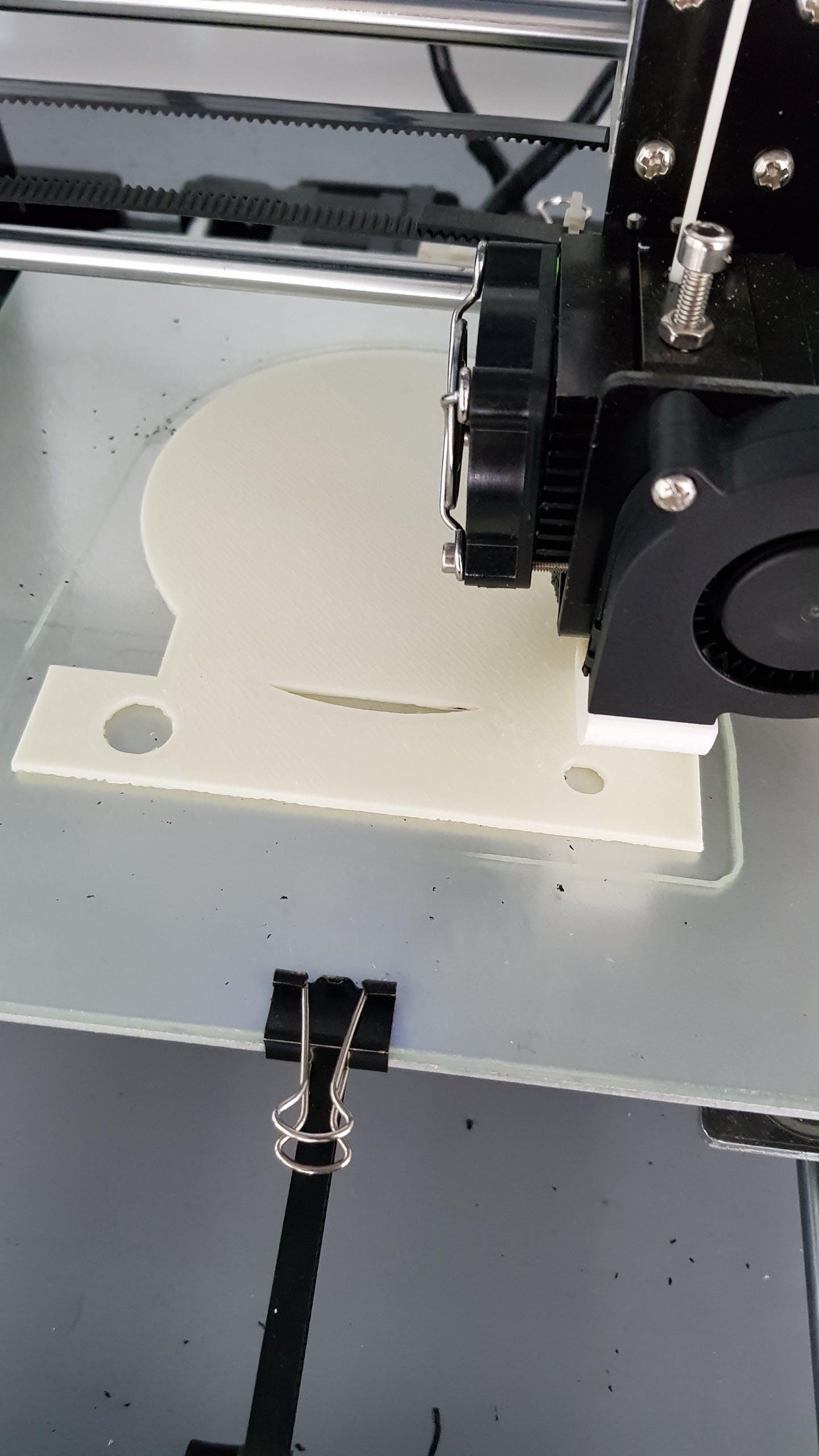 Custom case using 3D printer