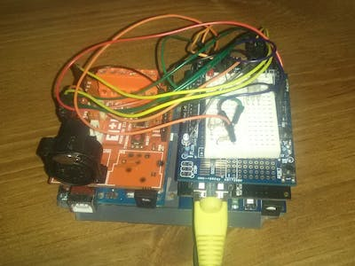 Web Operated DMX Controller