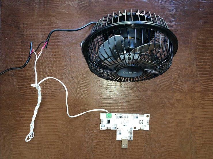 Figure 2: xChips and fan