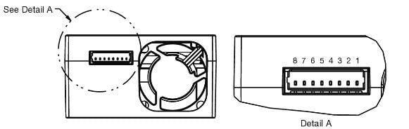 Diagrama de pines del sensor