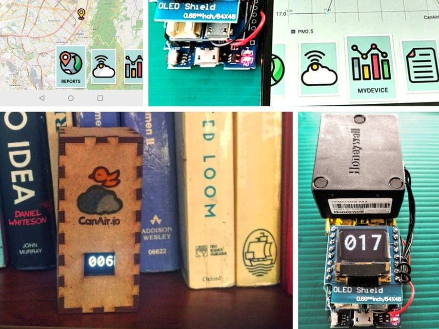 CanAirIO - Citizen Network for Air Quality Monitoring