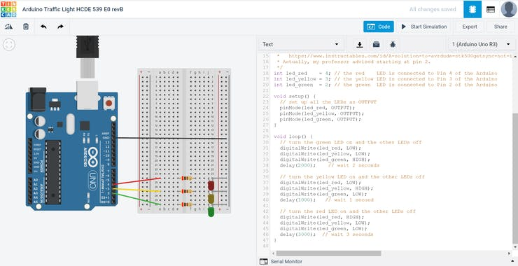 Arduino-Driven LED Traffic Light - Hackster io