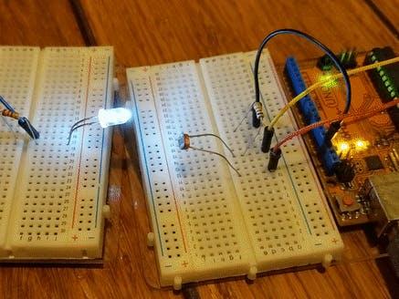 Adaptive LED Morse Code Decoder and Timer Interrupt