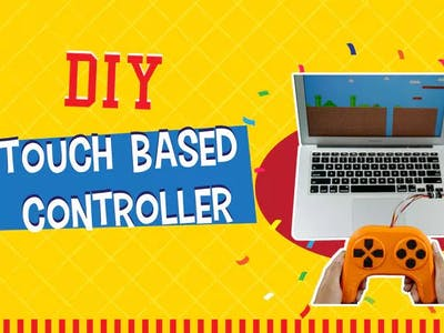 DIY Touch Based Game Controller