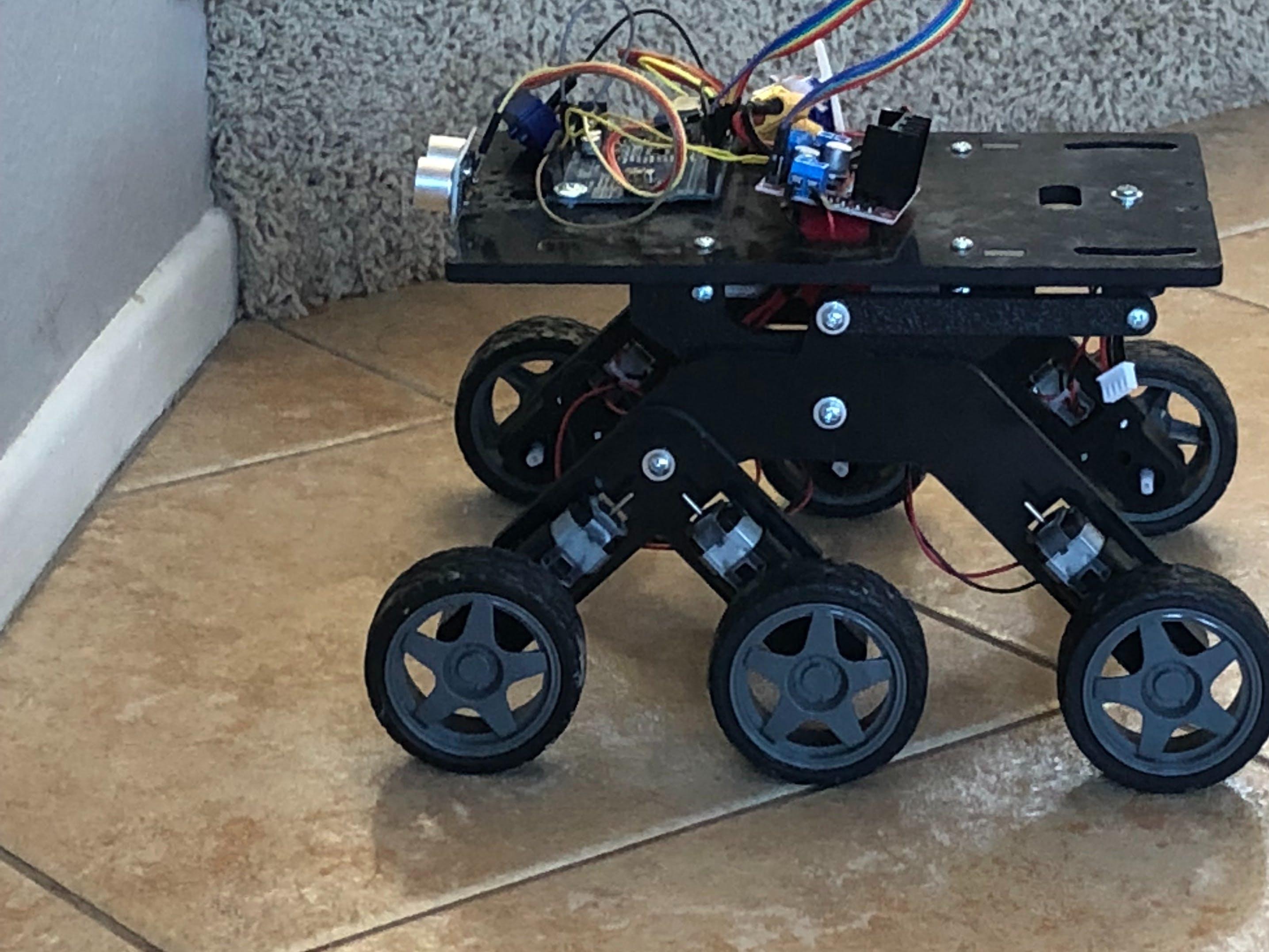 Probability | Autonomous Rover