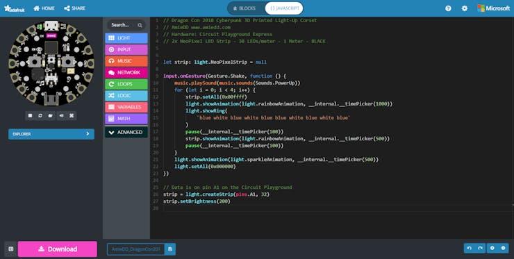 Make Code - AmieDD - Dragon Con 2018