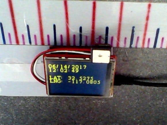 SAMD21 GPS Test Guide