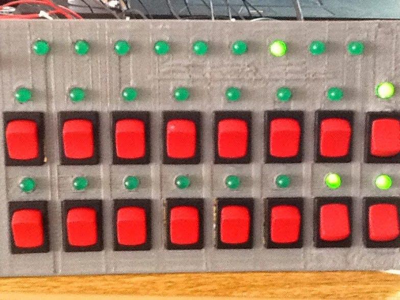 8-Bit Binary Adder
