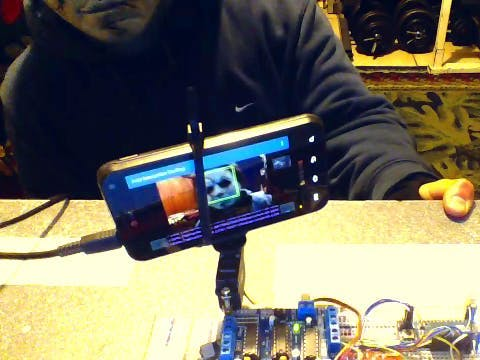 IoT Face Tracking and Recognition