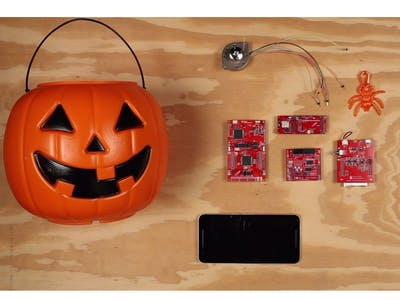 Spooky Halloween Prank with Microcontroller
