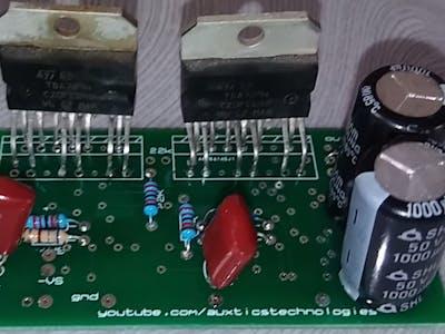 TDA7294 Bridge Mode Amplifier by PCB GOGO