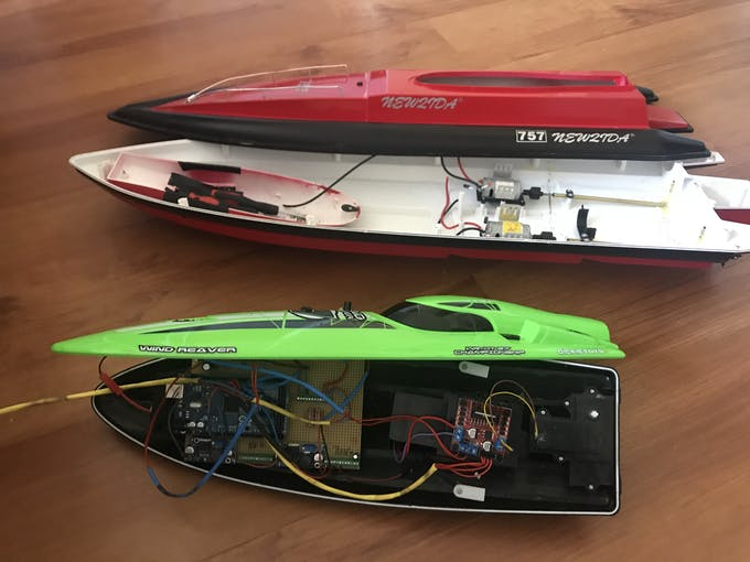 Arduino gps drone rc boat project hub