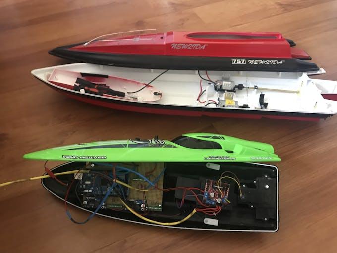 Old vs new big boat