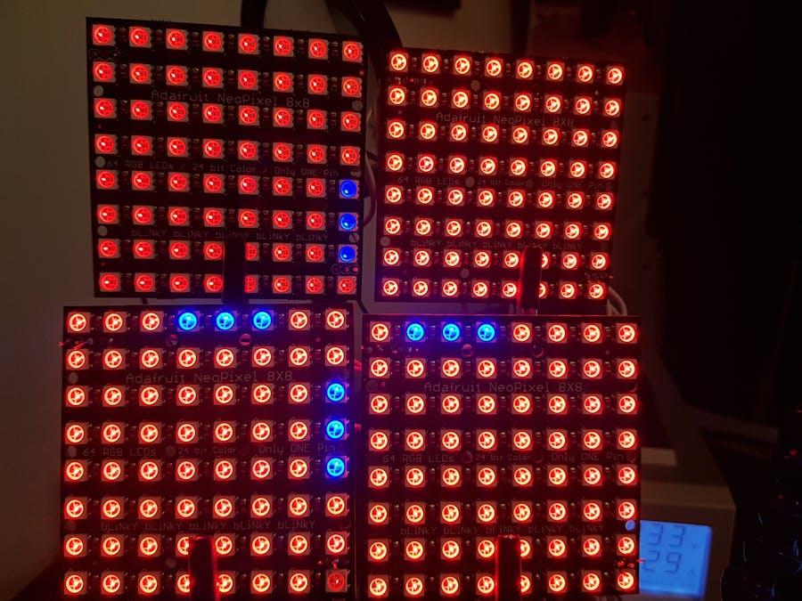 Game of Life-Based Lighting