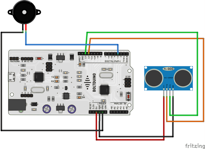 If you are using Boltduino