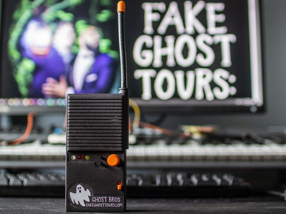 Fake Walkie-Talkie for Fake Ghost Tours