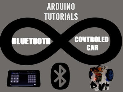 Bluetooth-Controlled Arduino Robot