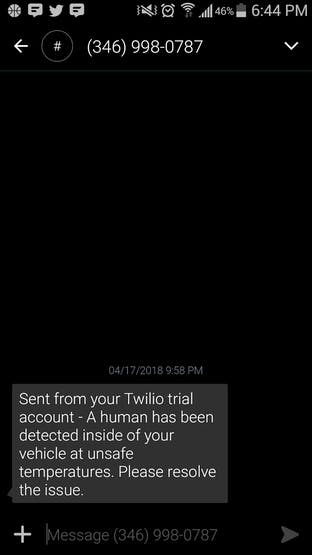 SMS Messaging Implementation with Twilio