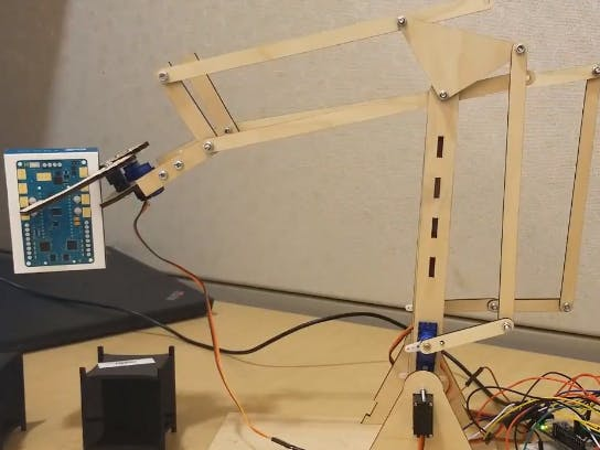 Using IoT to Remotely Control a Robotic Arm