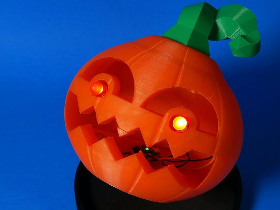 Jack: The 3D Printed, Blinking Jack-O'-Lantern