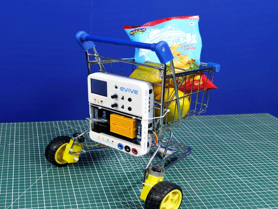 Smartphone Controlled Smart Shopping Cart